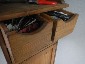 Seed Cabinet Drawers